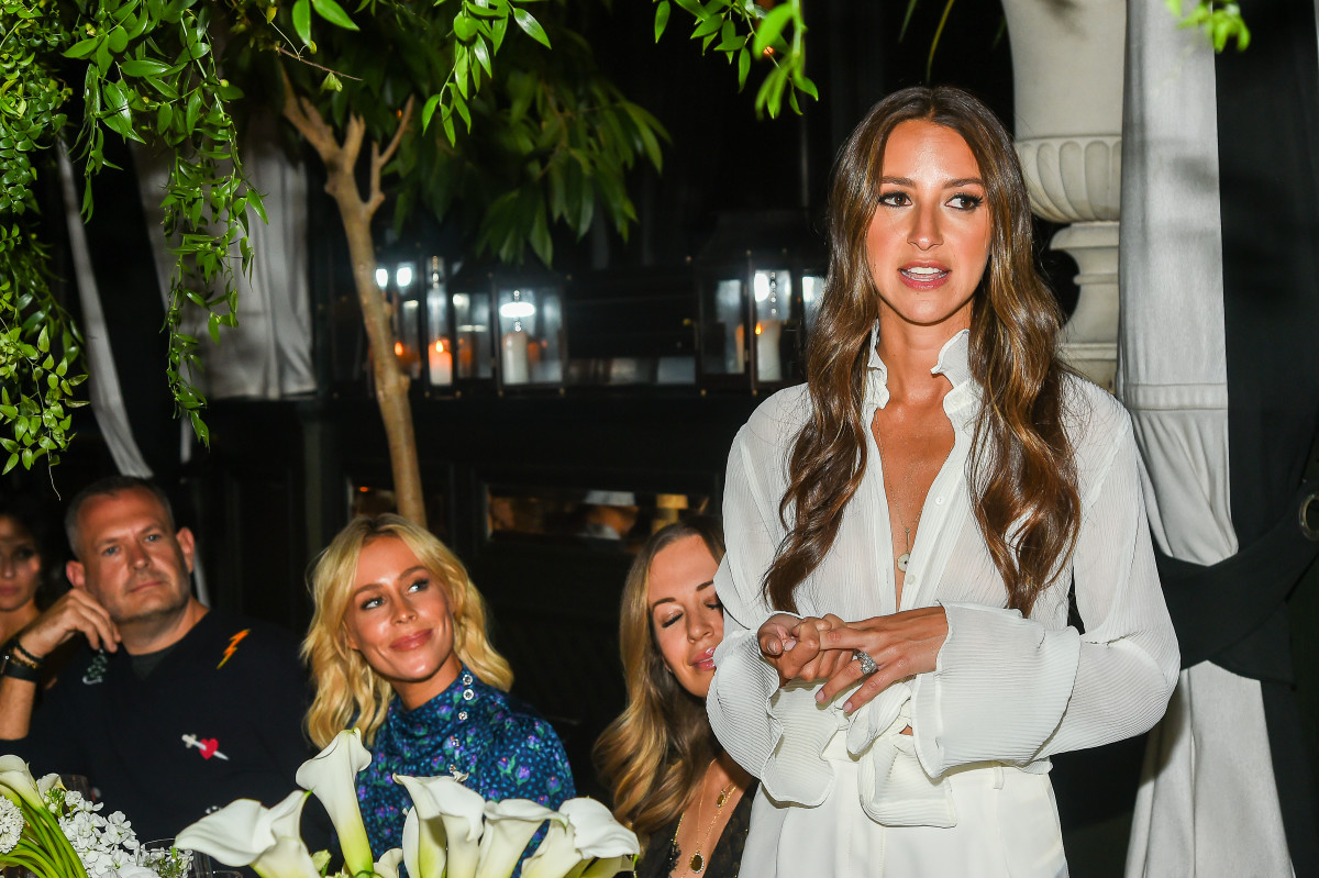 Arielle Charnas at Nordstrom's Something Navy brand launch dinner. Photo: Ben Gabbe/Getty Images