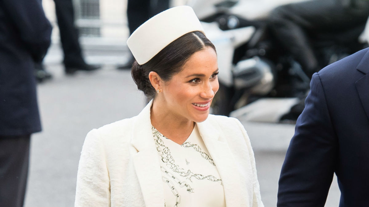 Meghan Markle Wore A Thing Victoria Beckham Dress Edition