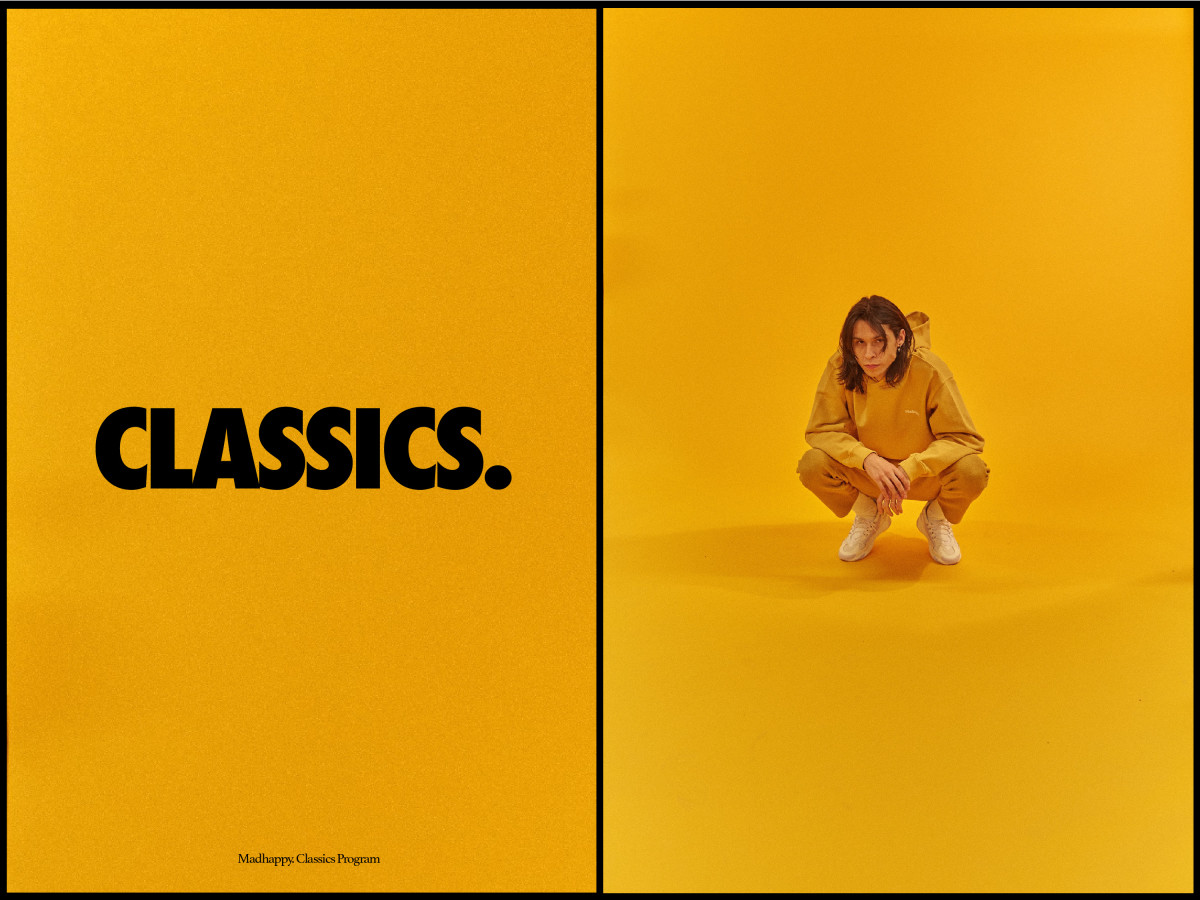 Madhappy's new permanent classics line. Photo: Courtesy of Madhappy