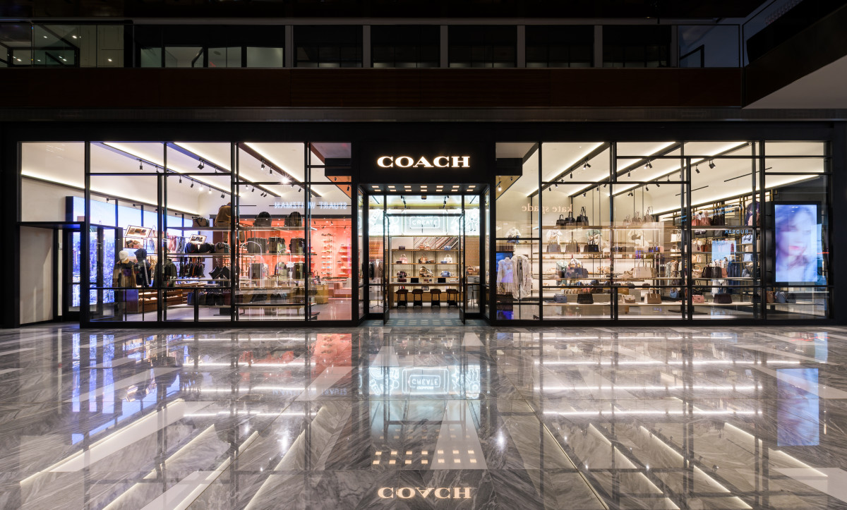 The Coach store in The Shops at Hudson Yards. Photo: Daniel Salemi for Coach