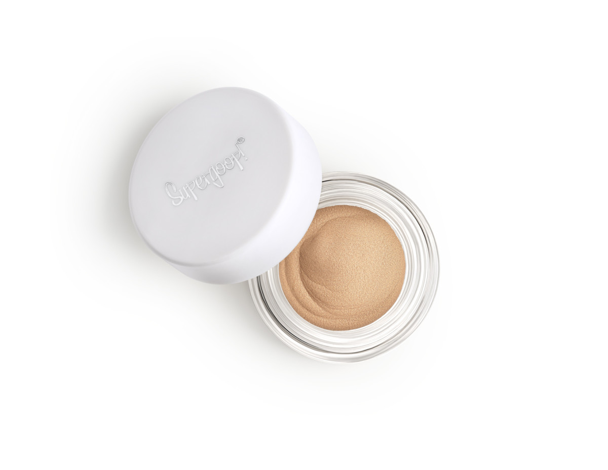 Supergoop Shimmershade Eyeshadow SPF 30, $24, available here. Photo: Courtesy of Supergoop