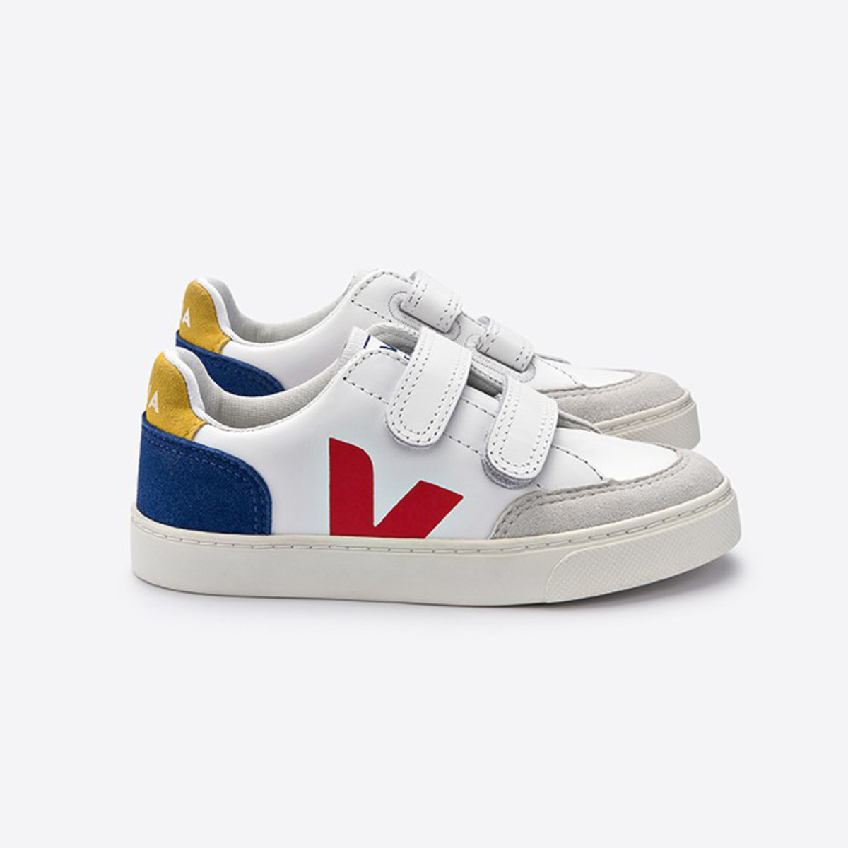 Veja V-12 Multico Indigo Sneakers, $79, available here.