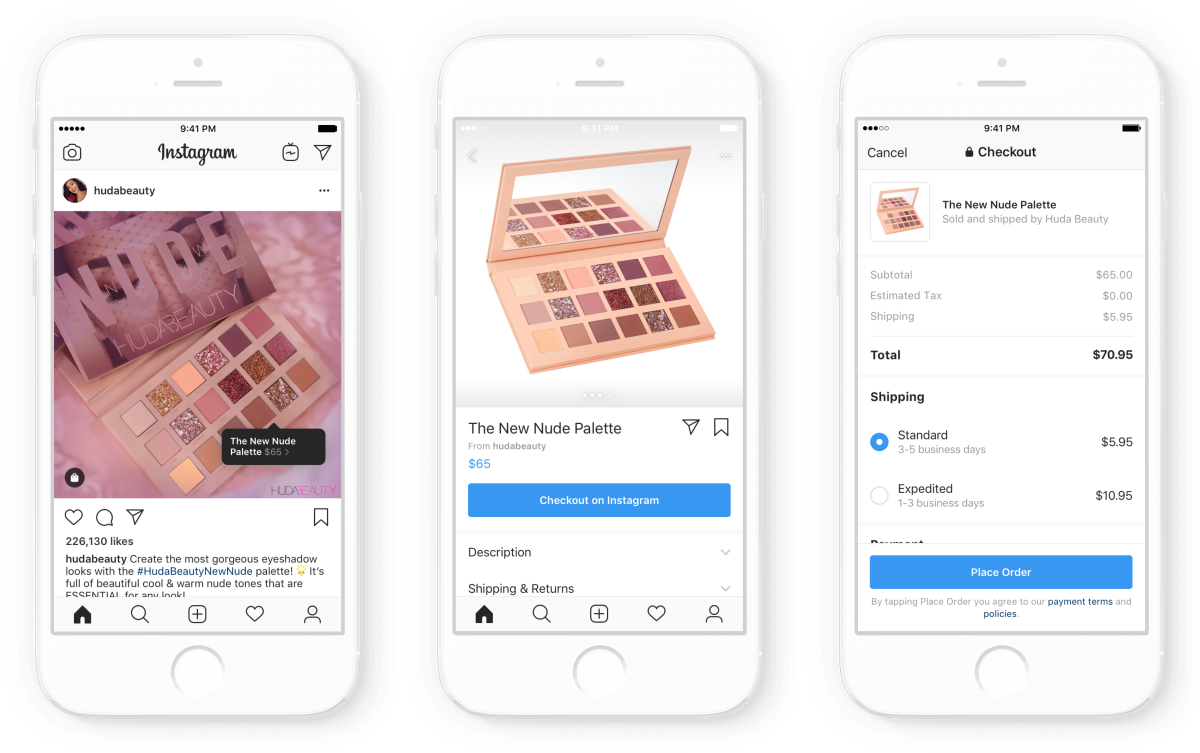 Now You Can Shop and Purchase Items on Instagram Without Leaving ...