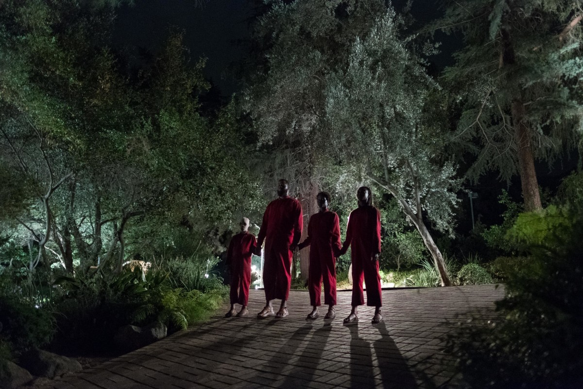 The Tethered: (Evan Alex, Winston Duke,Lupita Nyong'o andShahadi Wright Joseph).Photo: Claudette Barius/Universal Pictures