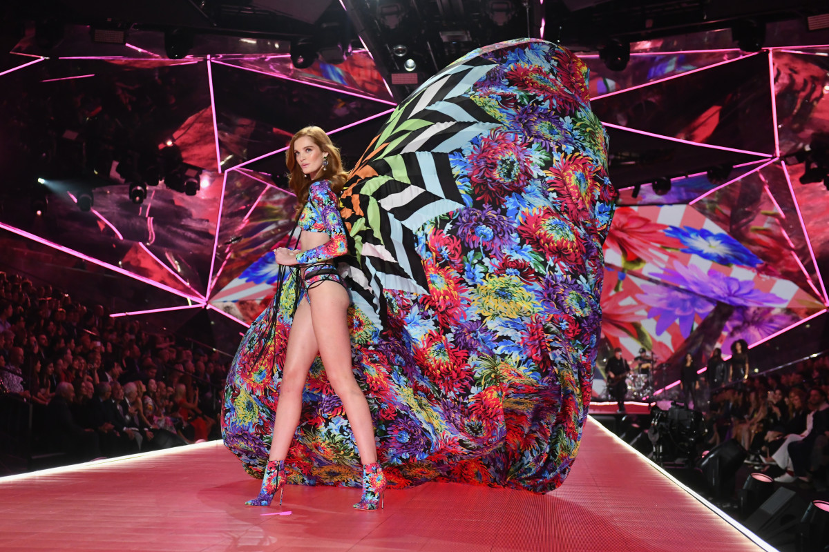 Alexina Graham at the 2018 Victoria's Secret Fashion Show. Photo: Noam Galai/Getty Images