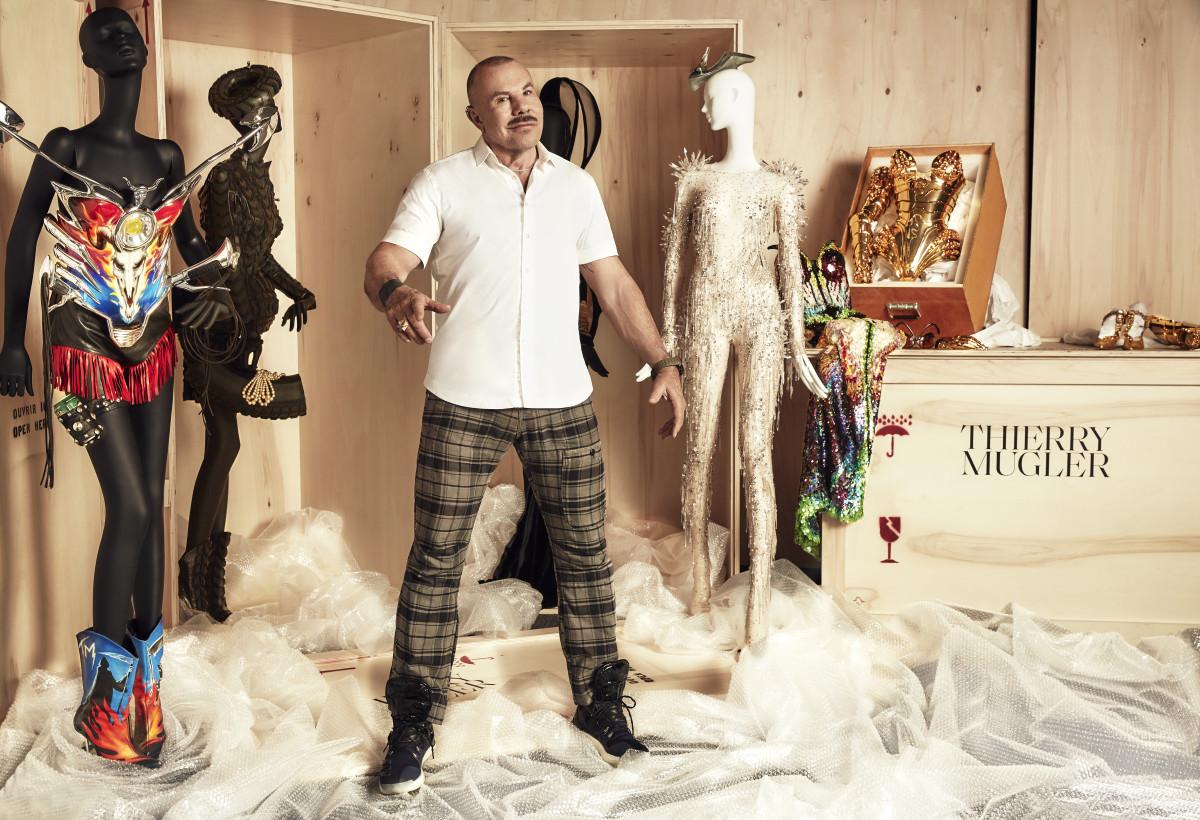 Manfred Thierry Mugler, creator. Photo: ©Max Abadian, courtesy ofMMFA