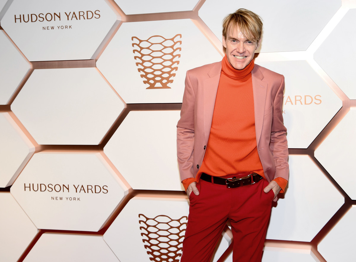 Ken Downing at the Hudson Yards opening in New York City. Photo: Dimitrios Kambouris/Getty Images