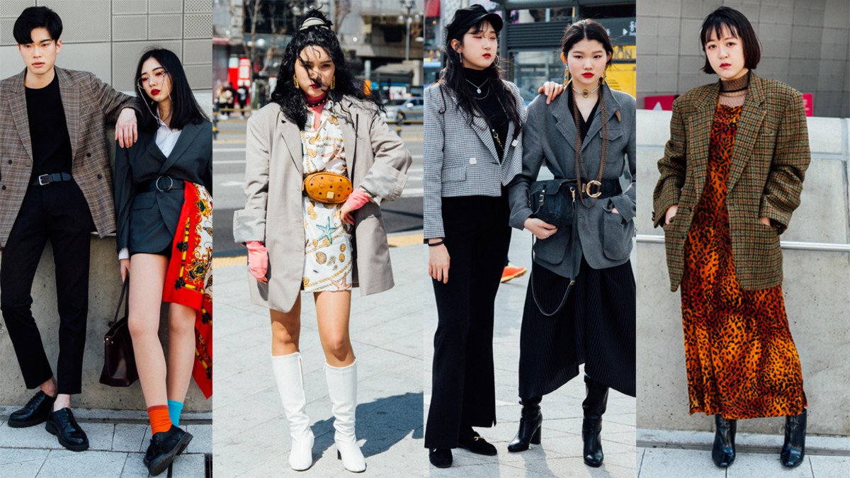The Street Style Crowd Wore All Types of Blazers at Seoul Fashion