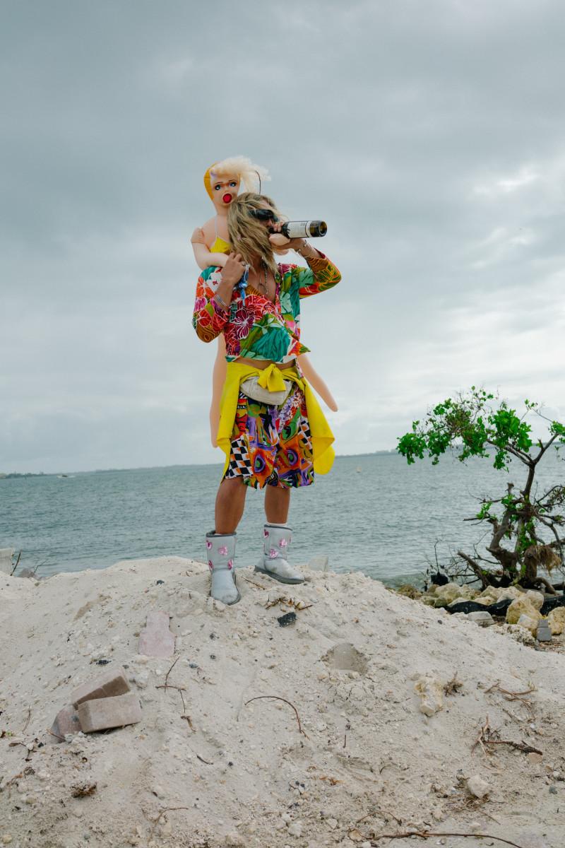 "Matthew McConaughey as Moondog in ""The Beach Bum."" Photo: Courtesy of Neon"