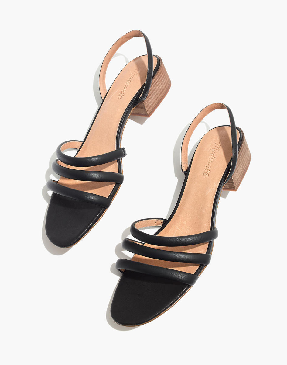 Madewell Addie Slingback Sandal, $128, available here. Photo: Courtesy of Madewell