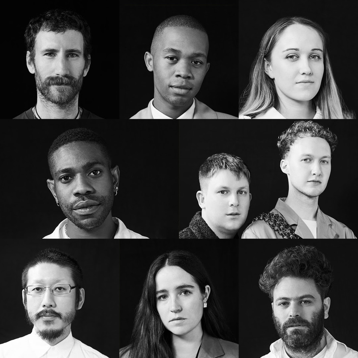 The eight LVMH Prize finalists for 2019. Photo: Courtesy LVMH