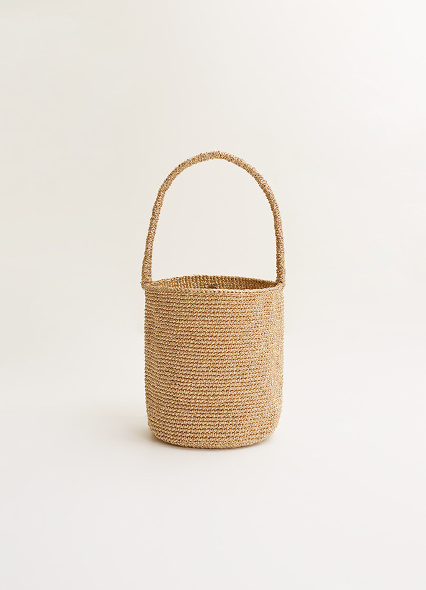 Vartist Kari Gold Bucket Bag, $173, available here.