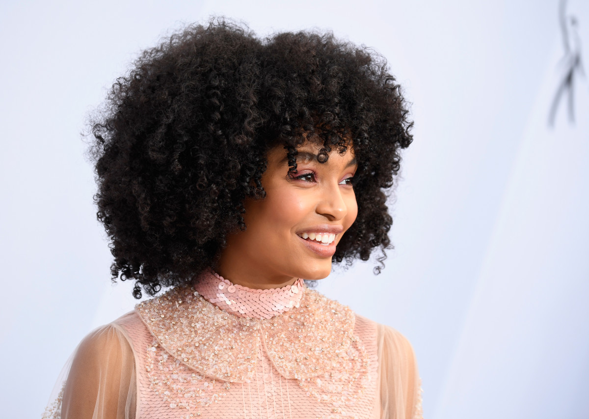Yara Shahidi attends the 25th Annual SAG Awards on January 27, 2019, in Los Angeles, California. Photo by Frazer Harrison/Getty Images