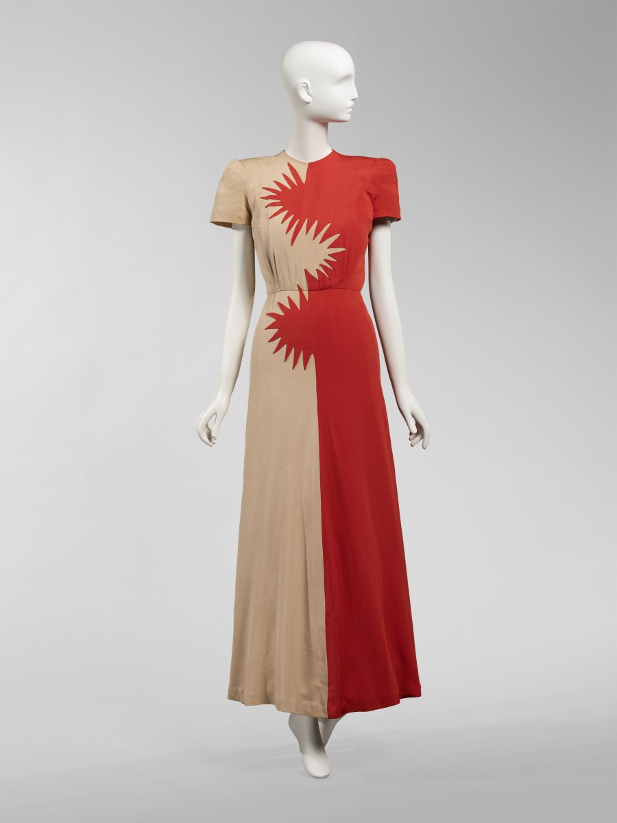 A dress by Howard Greer. Photo: Courtesy of the Chicago History Museum