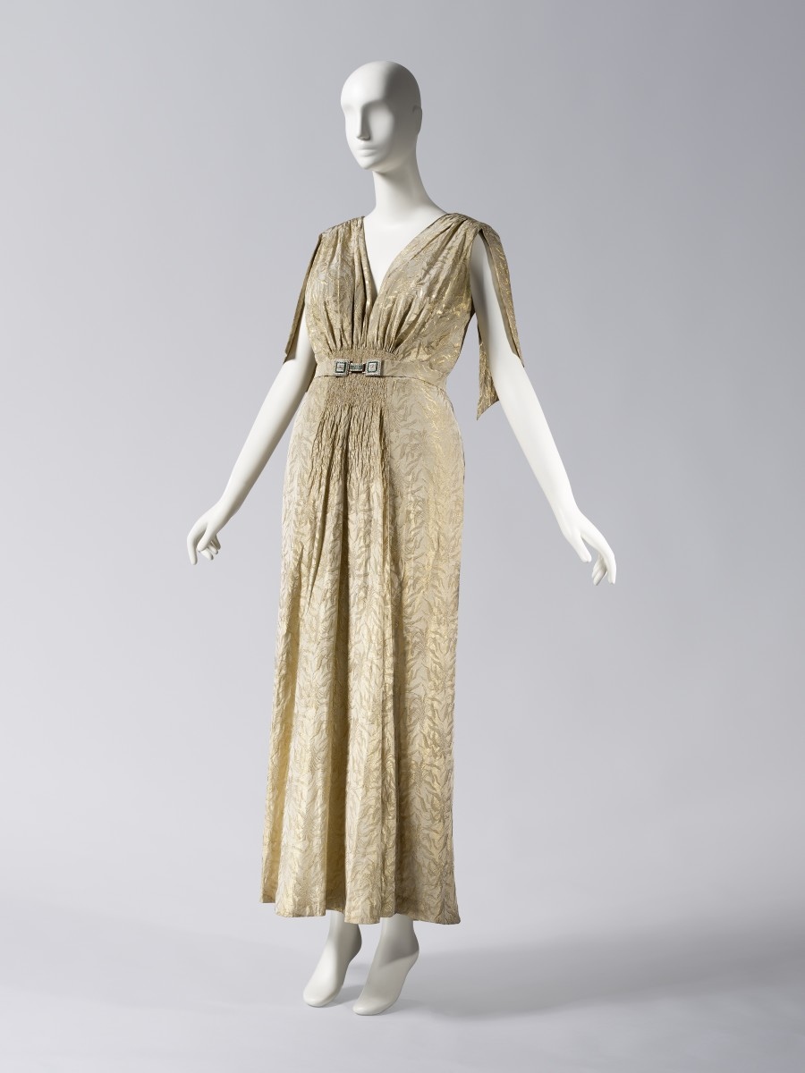A dress by Bergdorf Goodman. Photo: Courtesy of the Chicago History Museum