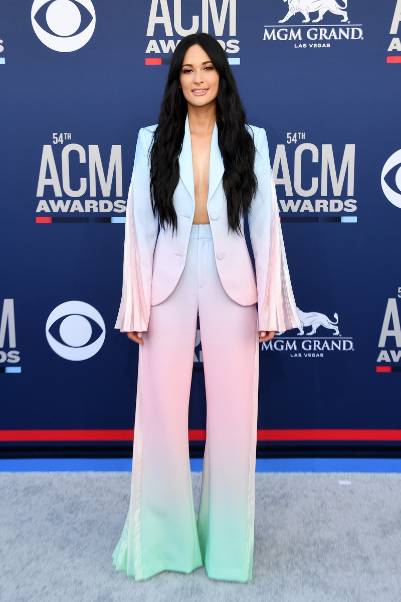 Kacey Musgraves in Christian Cowan at the 54th Academy Of Country Music Awards in Las Vegas, Nevada. Photo: Ethan Miller/Getty Images