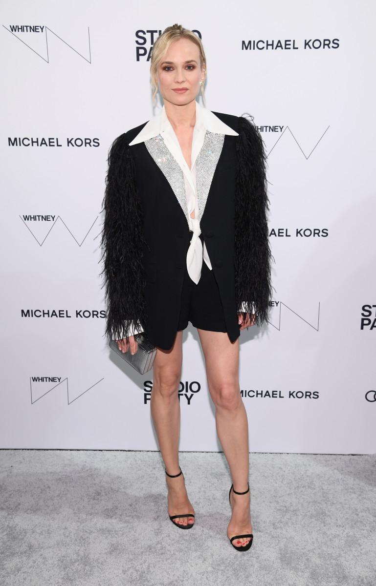 Diane Kruger in Michael Kors. Photo: Dimitrios Kambouris/Getty Images