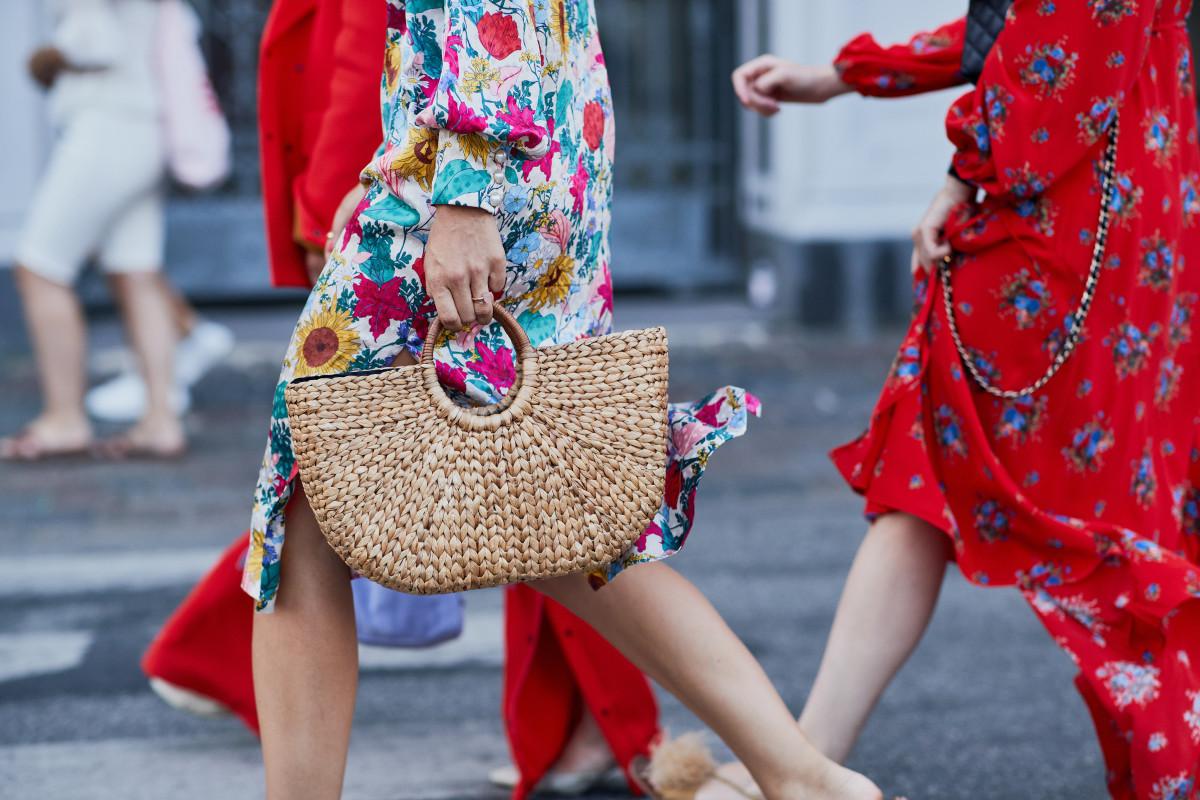 Floral midi dresses. Photo: Imaxtree