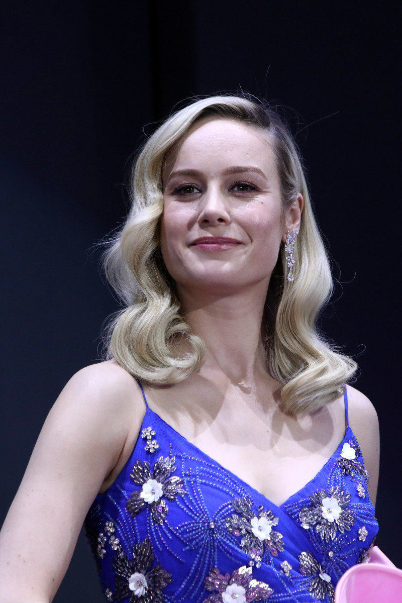 "Brie Larson at the premiere of ""Avengers: Endgame"" in South Korea. Photo: Chung Sung-Jun/Getty Images for Disney"