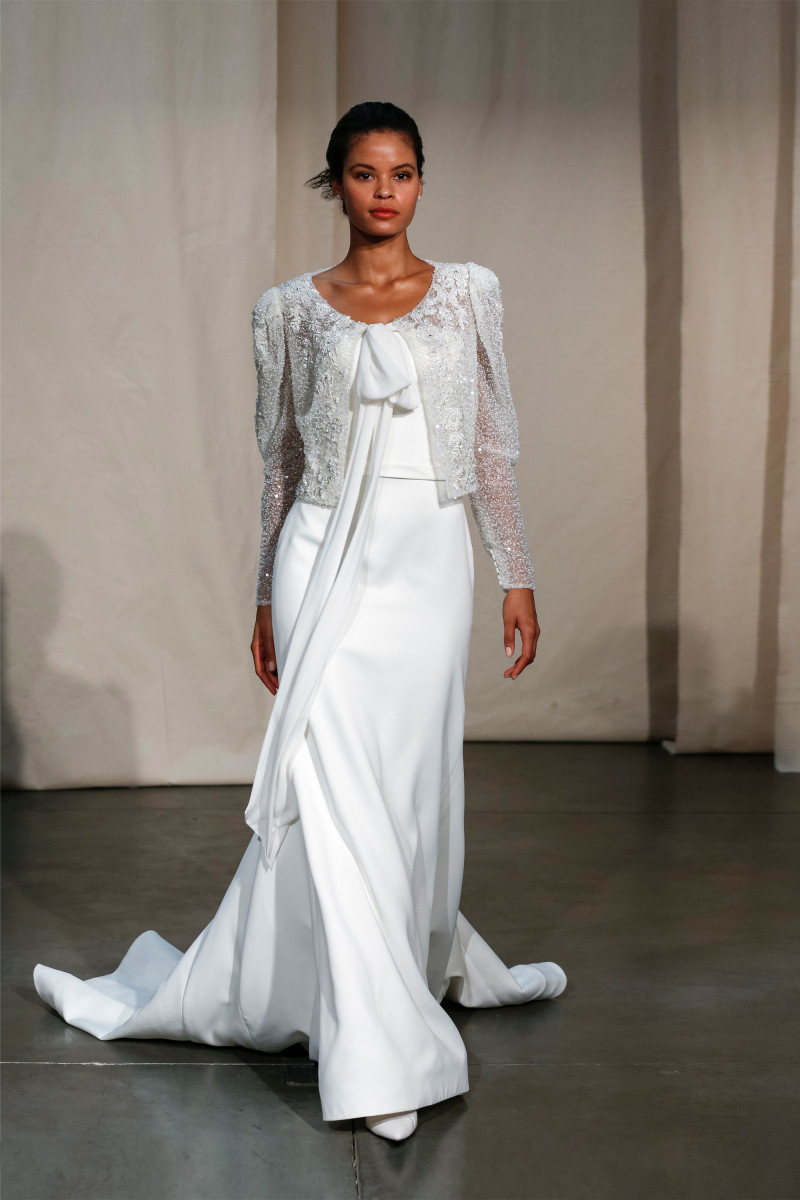 A look from the Justin Alexander Spring 2020 bridal collection. Photo: Courtesy of Justin Alexander