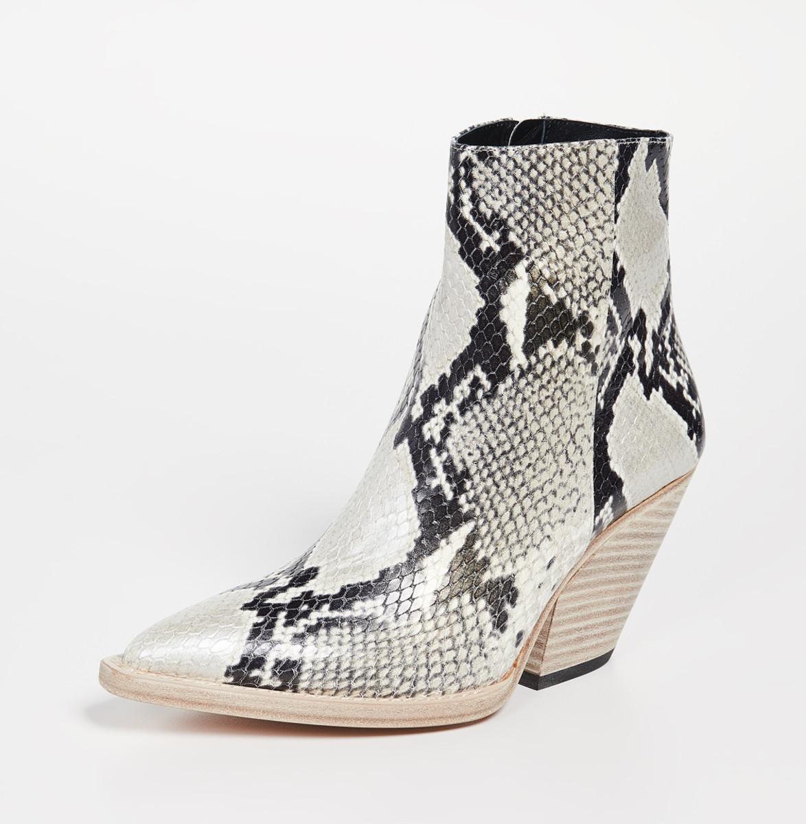Iro Arezela Boots, $795, available here.