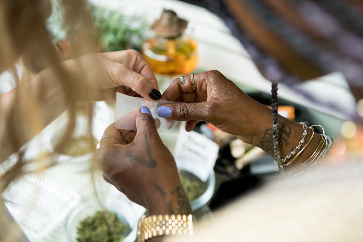 Photo: Courtesy of Cannaclusive, an organization that helps facilitate fair representation of minority cannabis consumers.