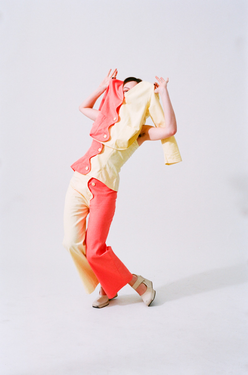 The Chroma jacket and bottoms from Tyler McGillivary. Photo: Courtesy of Tyler McGillivary