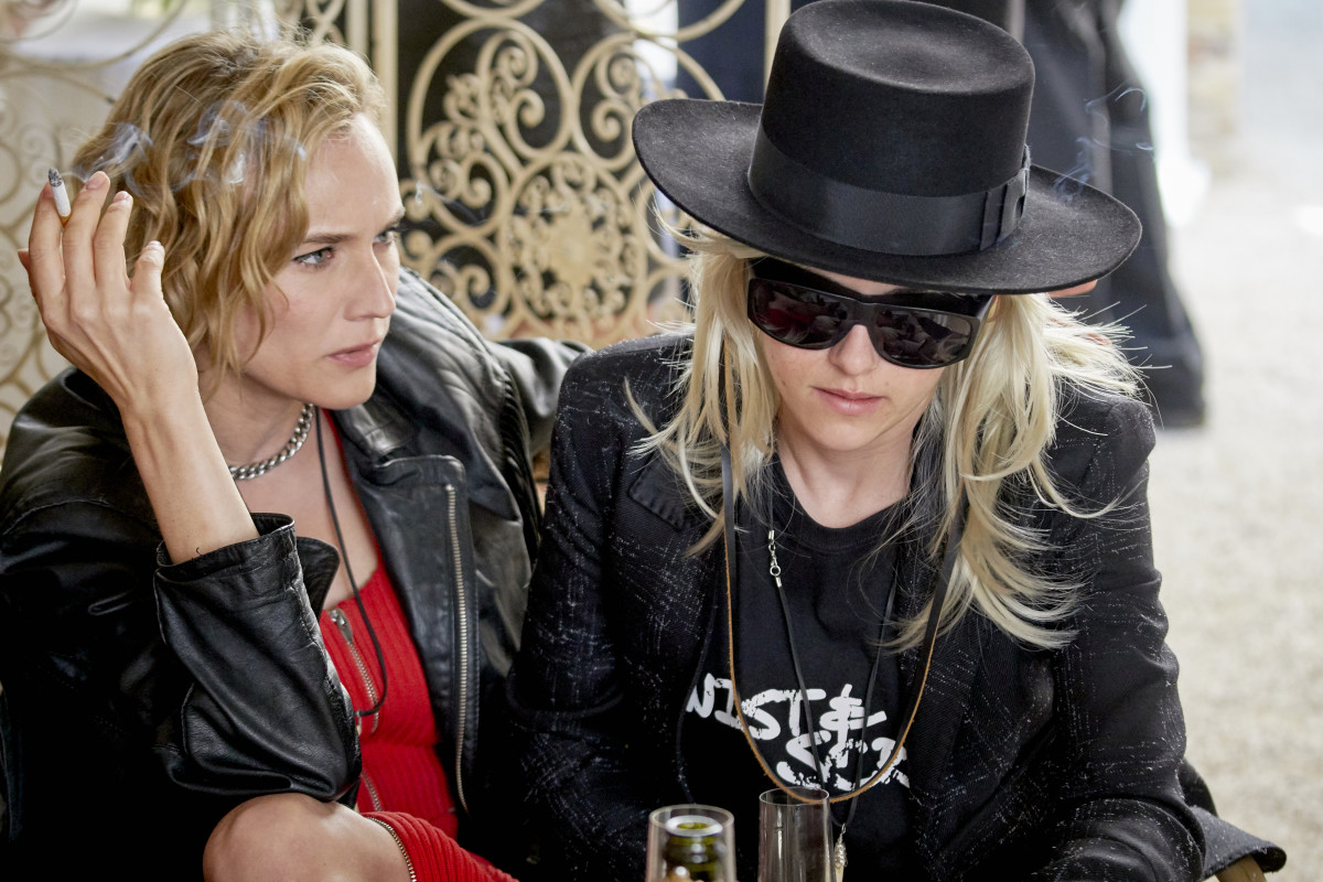 Eva (Diane Kruger) and Savannah as J.T. in Paris. Photo: Photo: Courtesy of Universal Pictures Content Group