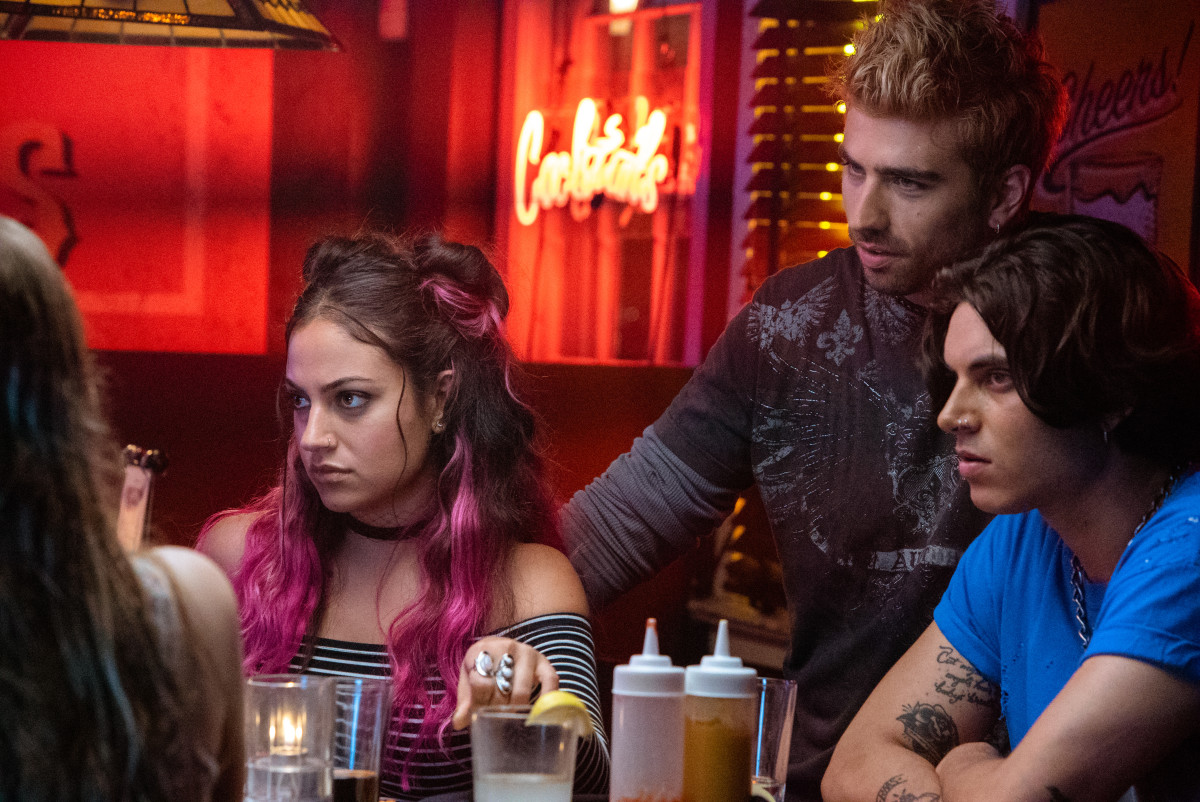 L-R: Sarkis as Molly, Swen Temmel as Jace and Samuel Larsen as Zed in 'After.' Photo: Courtesy of Aviron Pictures