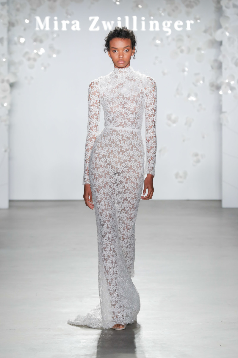 A look from the Mira Zwillinger Spring 2020 bridal collection. Photo: Courtesy of Mira Zwillinger