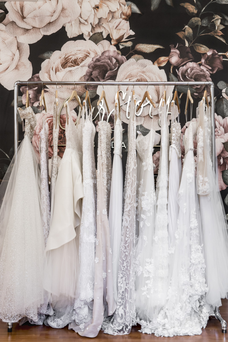 The Our Story Bridal boutique in New York. Photo: Coni Tarallo/Courtesy of Our Story Bridal