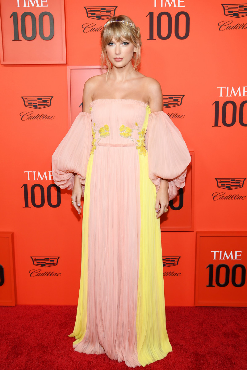 Taylor Swift at the Time 100 Gala in 2019. Photo: Dimitrios Kambouris/Getty Images for Time
