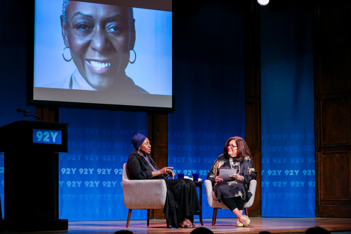 Bethann Hardison and Fern Mallis. Photo: Michael Priest Photography