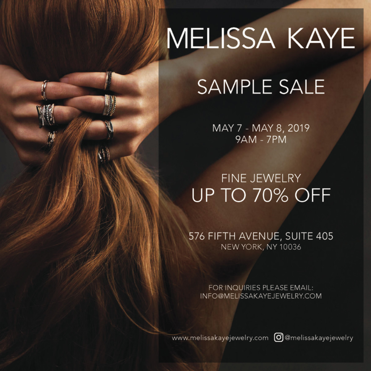 Melissa Kaye - Sample Sale (1)