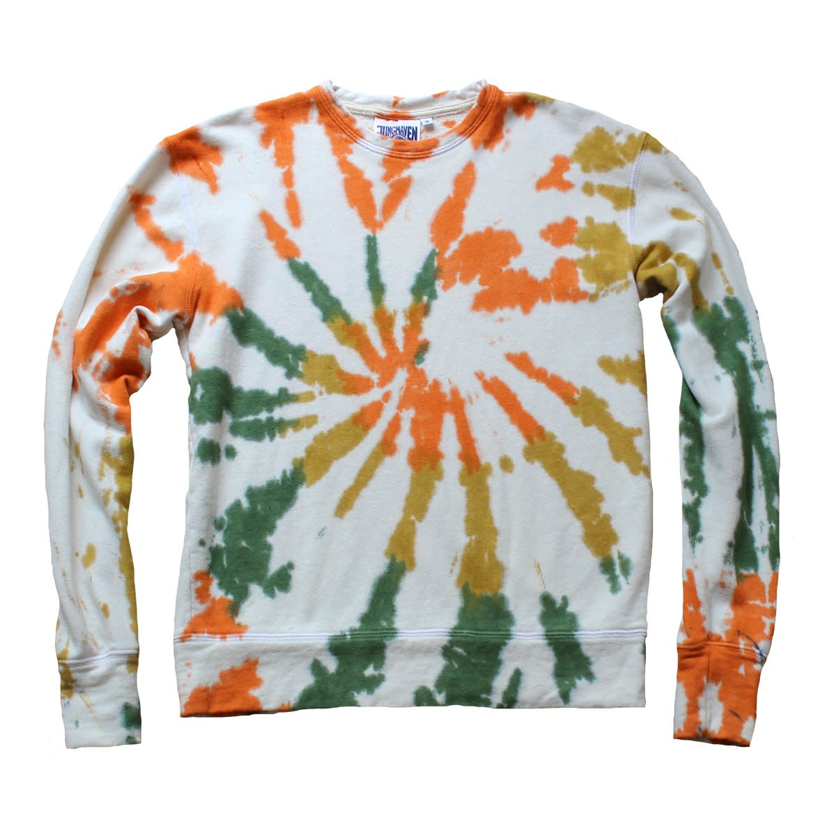 Jungmaven Wave Tie Dye Tahoe Sweatshirt, $130, available here.