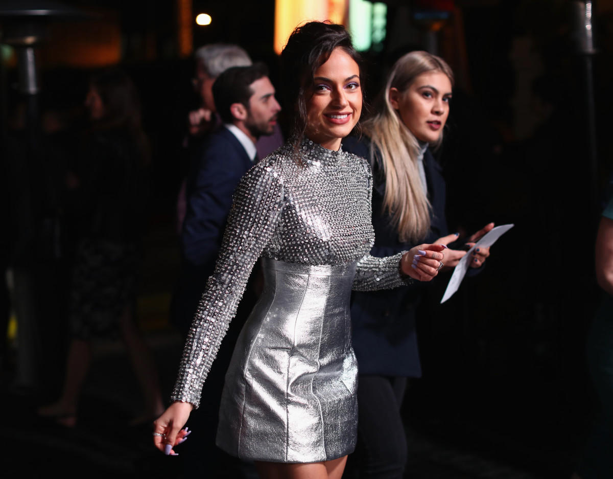 Inanna Sarkis at an Oscars party at the Chateau Marmont in February this year. Photo: Joe Scarnici/Getty Images for Cadillac
