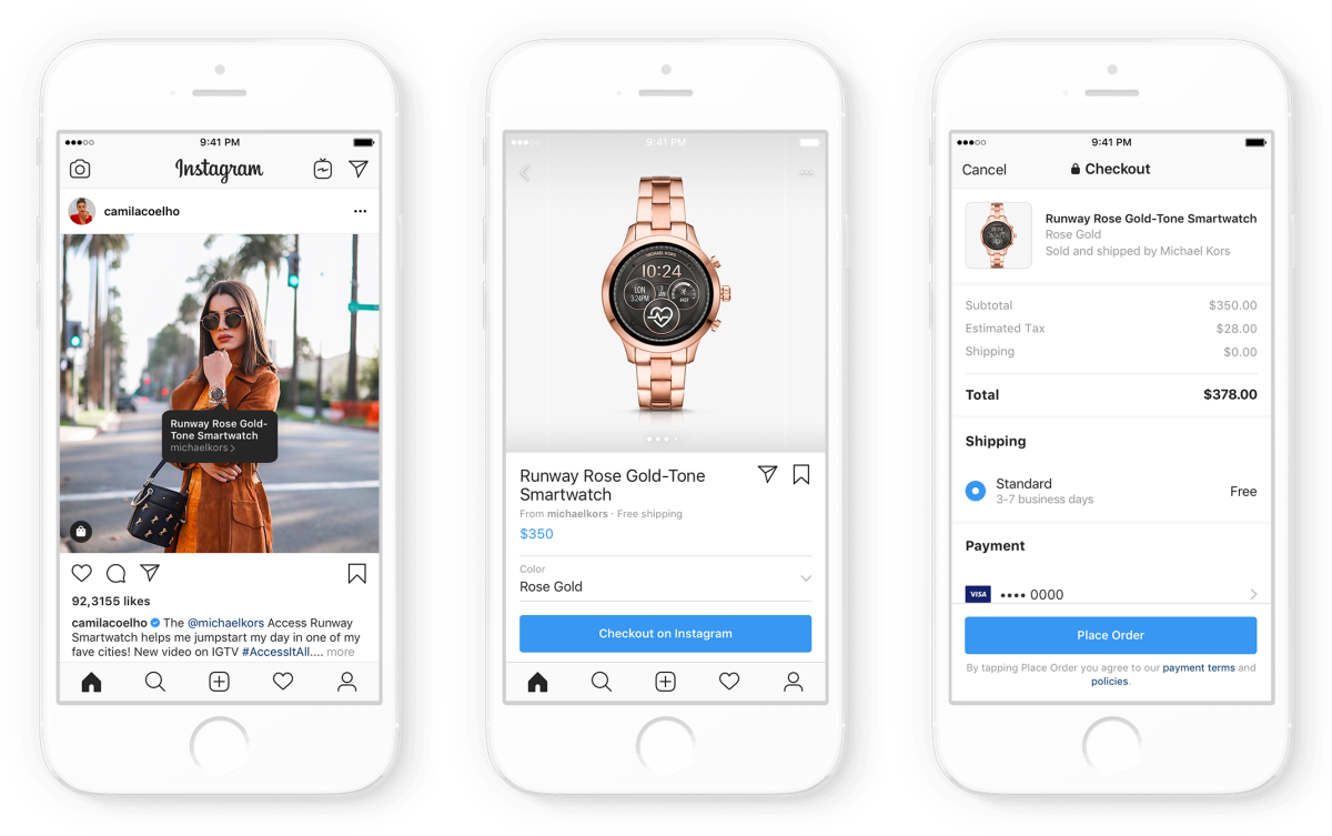 184b8419aaa582 Instagram Extends In-App Shopping Feature to Top Influencer Accounts ...