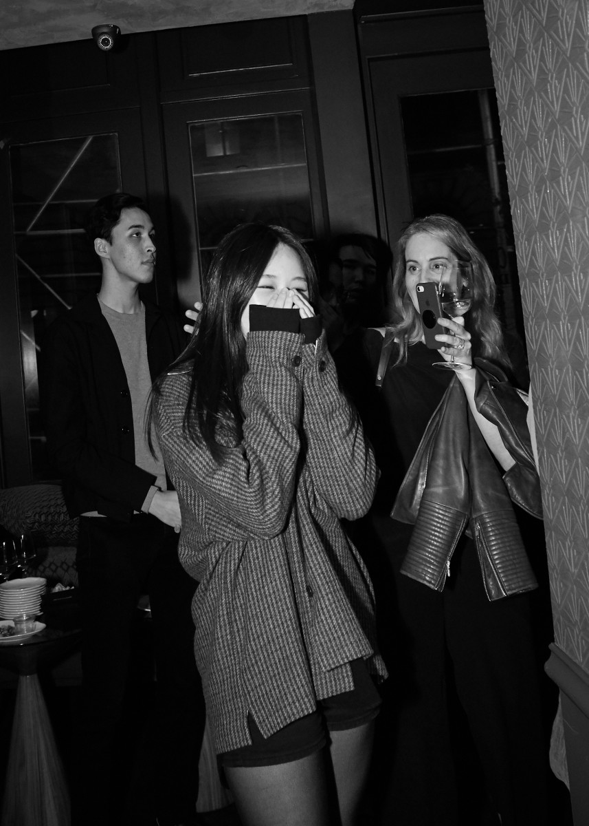 So Jung (Hailey) Kim winning a scholarship from Joe's Blackbook Foundation. Photo: Ken Morton/Courtesy of Joe's Blackbook