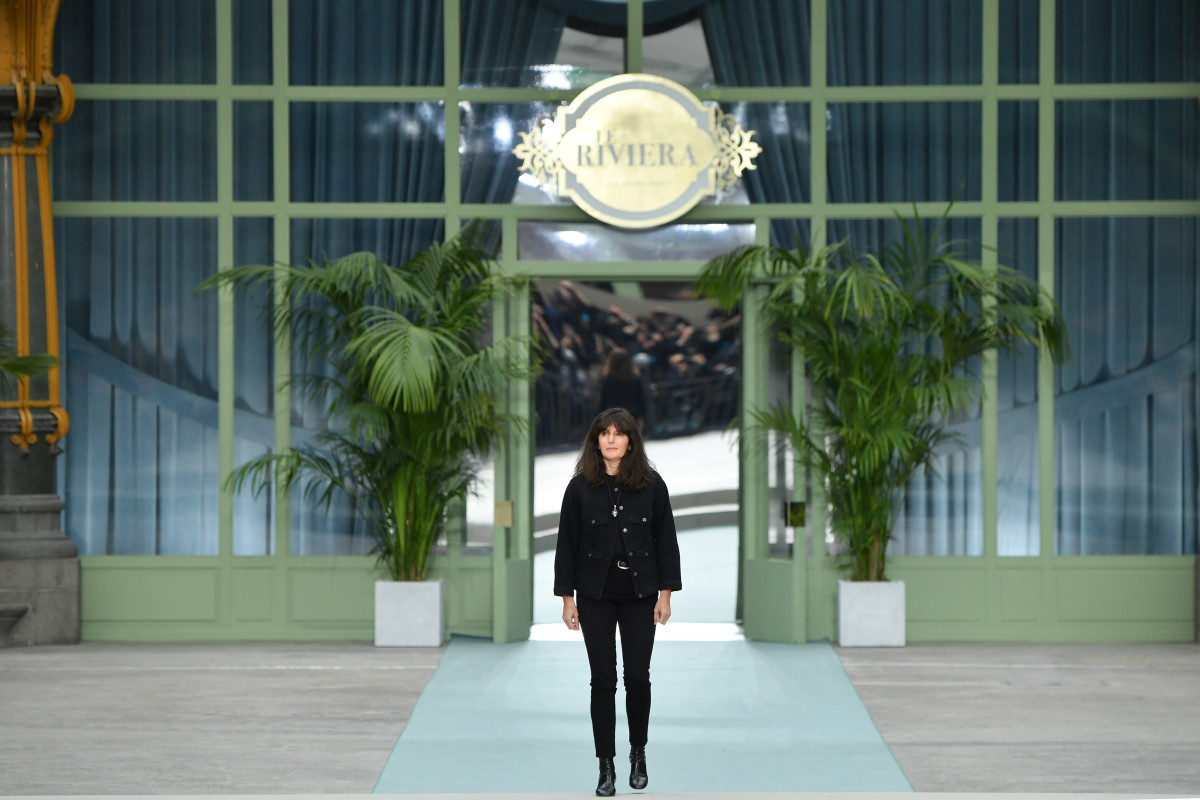 Virginie Viard at the Chanel Resort 2020 runway. Photo: Pascal Le Segretain/Getty Images