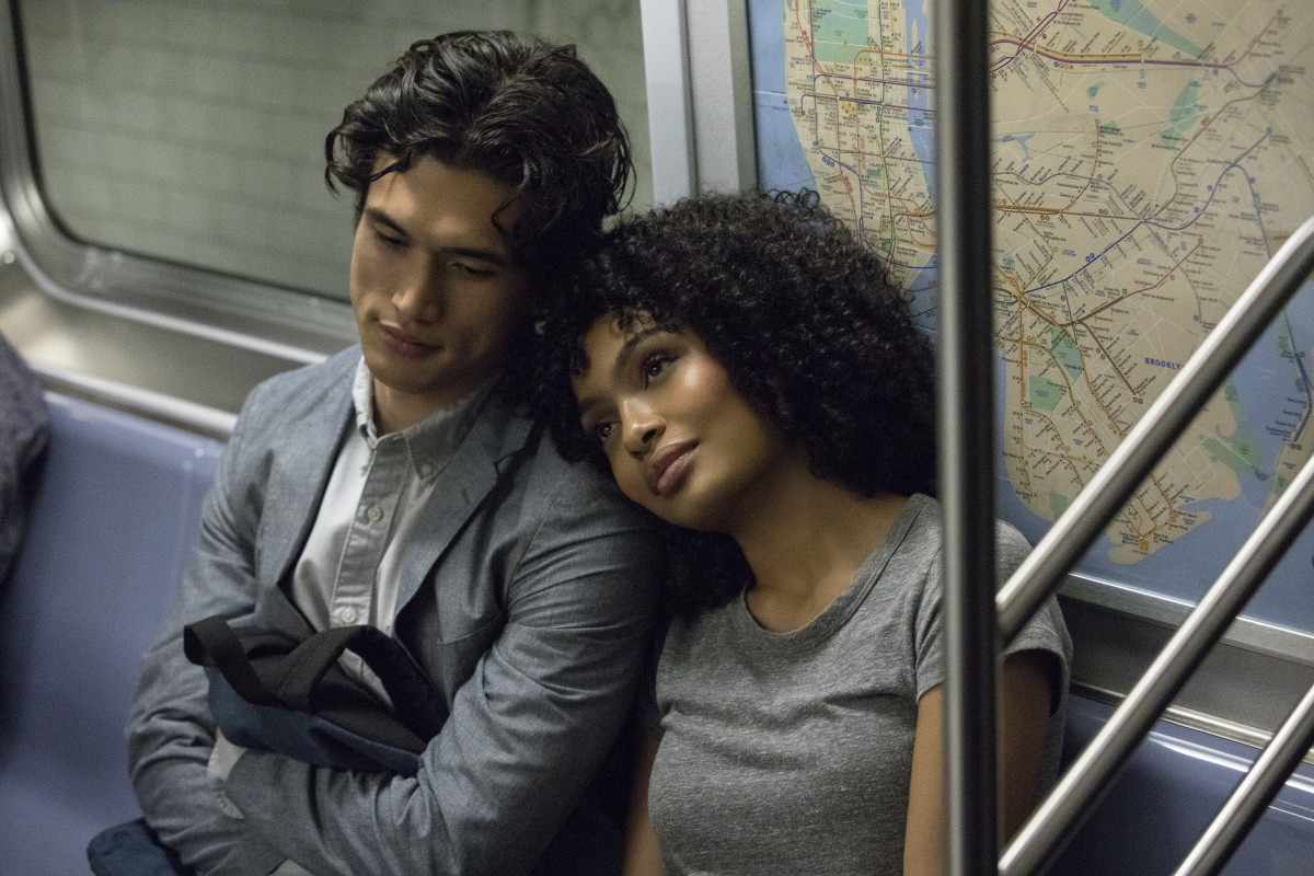 My heart ... Daniel (Charles Melton) and Natasha (Yara Shahidi). Photo: Atsushi Nishijima/Courtesy of Warner Pro. Pictures