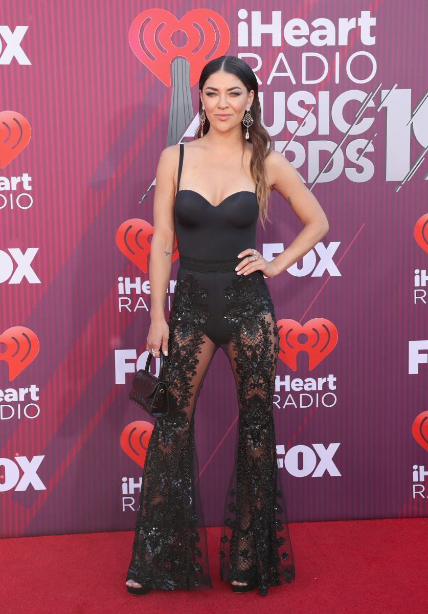Jessica Szohr at the 2019 iHeartRadio Music Awards. Photo: Rich Polk/Getty Images for iHeartMedia