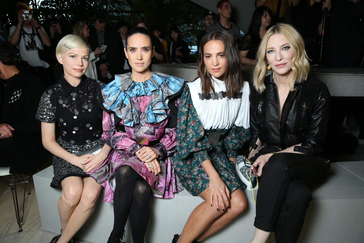 See What All the Celebrities Wore to the Louis Vuitton