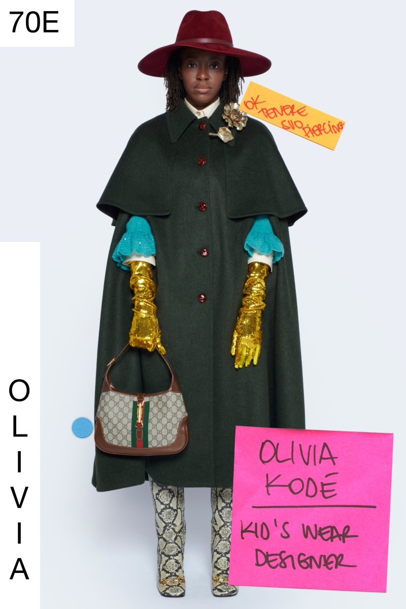 """A look from Gucci's """"Epilogue"""" collection."""