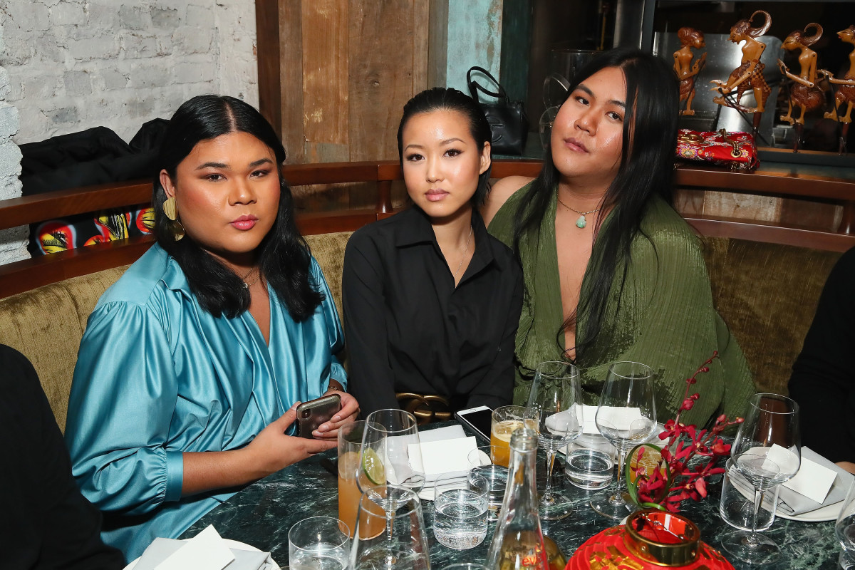 Glam Collective founders Dese Escobar, Fiffany Luu and Kyle Luu.