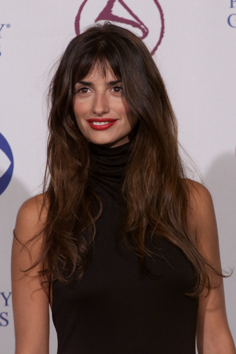 Penélope Cruz at the 1st Annual Latin Grammy Awards in 2000.