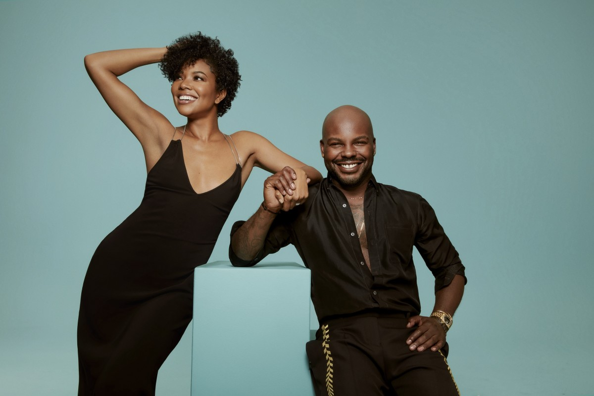 Gabrielle Union and Larry Sims for Flawless by Gabrielle Union.