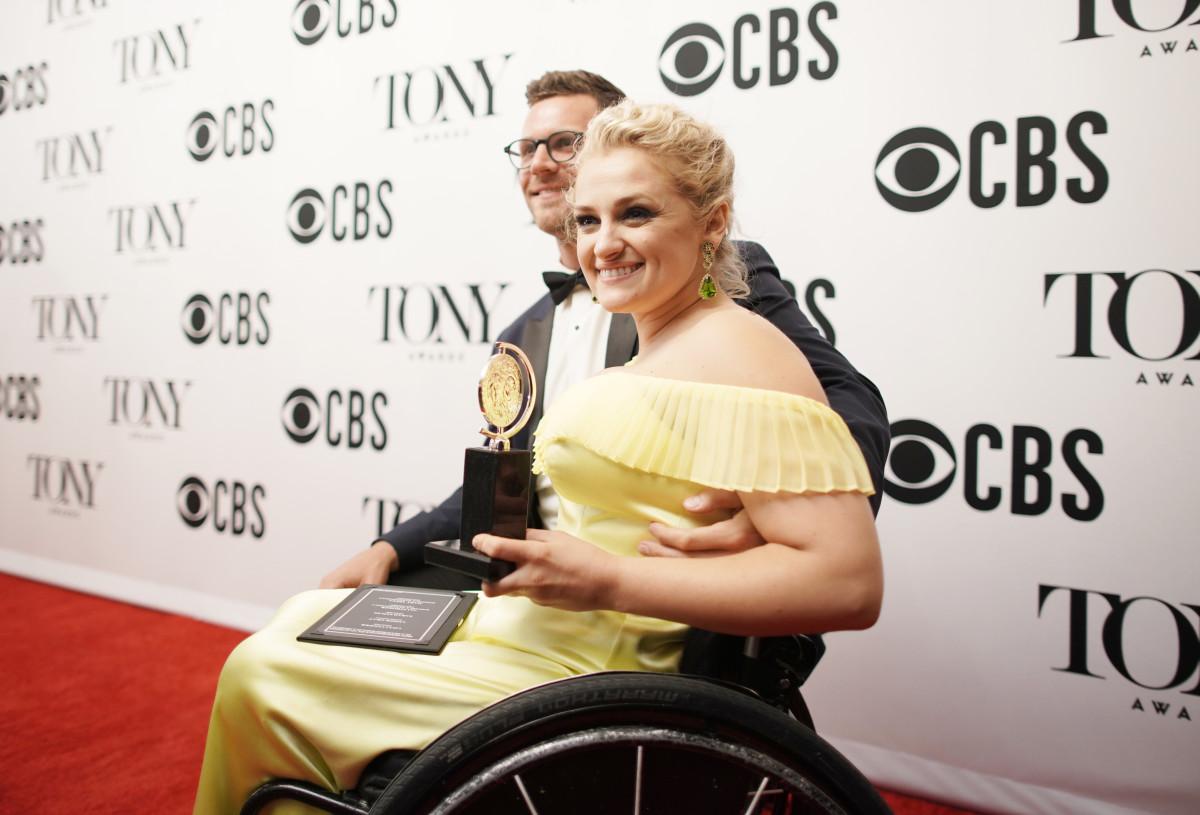 Celebrity Fashion: ali-stroker-rachel-antonoff-tony-awards-2