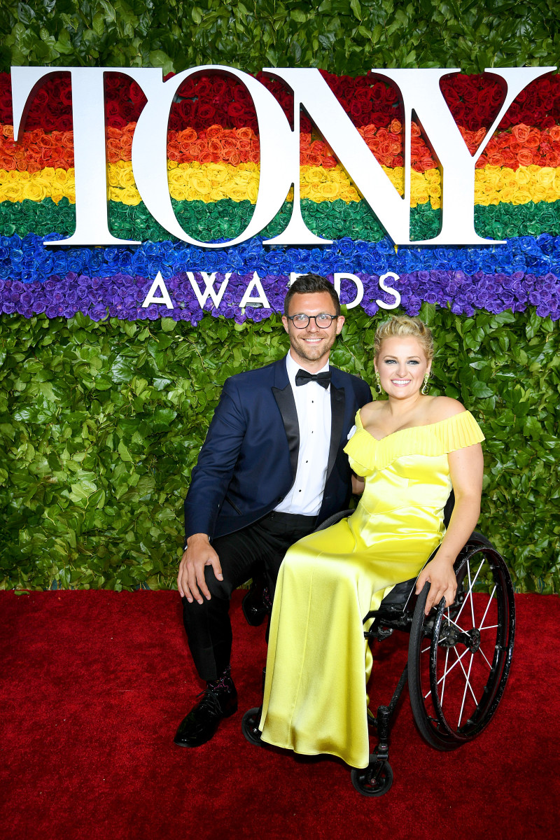 Celebrity Fashion: Ali Stroker in custom Rachel Antonoff at the 2019 Tony Awards.