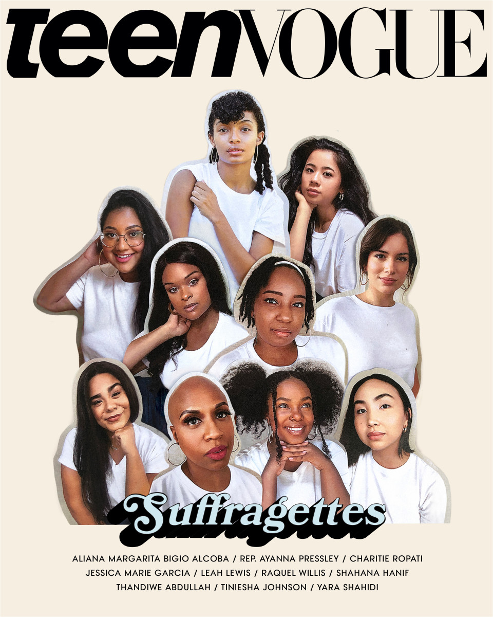 The August 2020 cover of Teen Vogue.