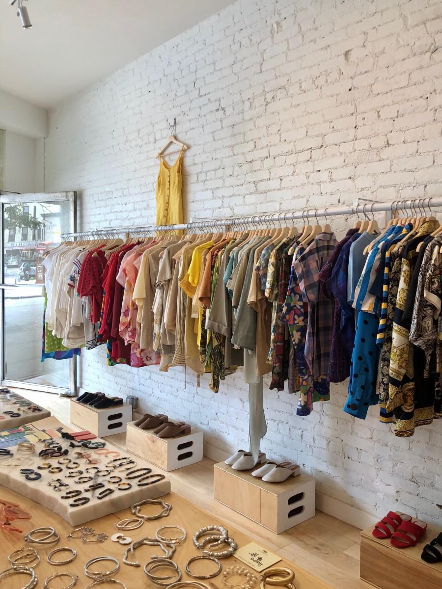 Inside one of Awoke Vintage's three Brooklyn locations.